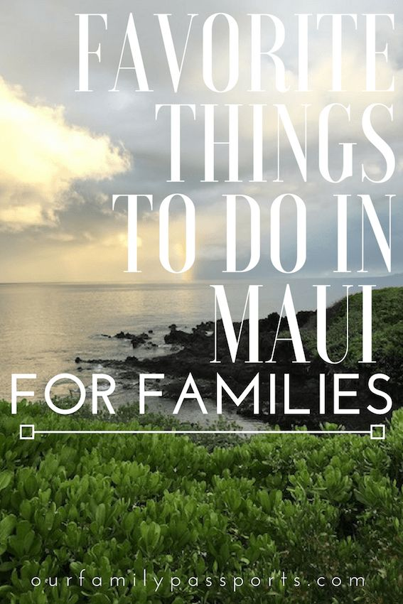 MAUI, HAWAII | Look no further as we tell you where to eat, where to stay and what to do for the most relaxing and enjoyable Hawaiin vacation! | things to do in hawaii with families, things to do in maui with families, maui, island destinations, what to do in Maui