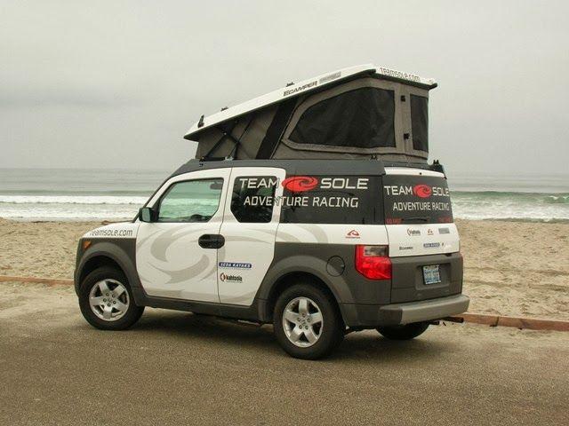 Ursa Minor conversion on a Honda Element & 94 best Honda Elements images on Pinterest | Van camping Van life ...