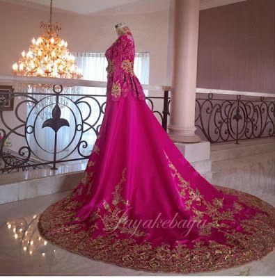 Wedding Kebaya Modern Dress 2016 - Toska
