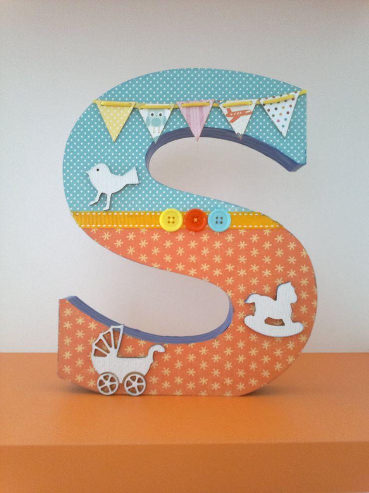 Letras decoradas. Deco letters