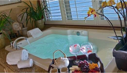 Monterey Plaza Hotel  Spa Inroom jacuzzi travel