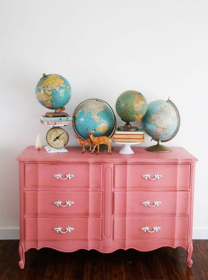 paint a thrift store dresser