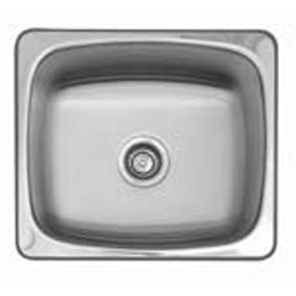 Franke Steel Queen Laundry Sink Tub SQX61010. | E Trading -  overall 510 x 460 bowl 460 x 410 x 250mm 41L $349