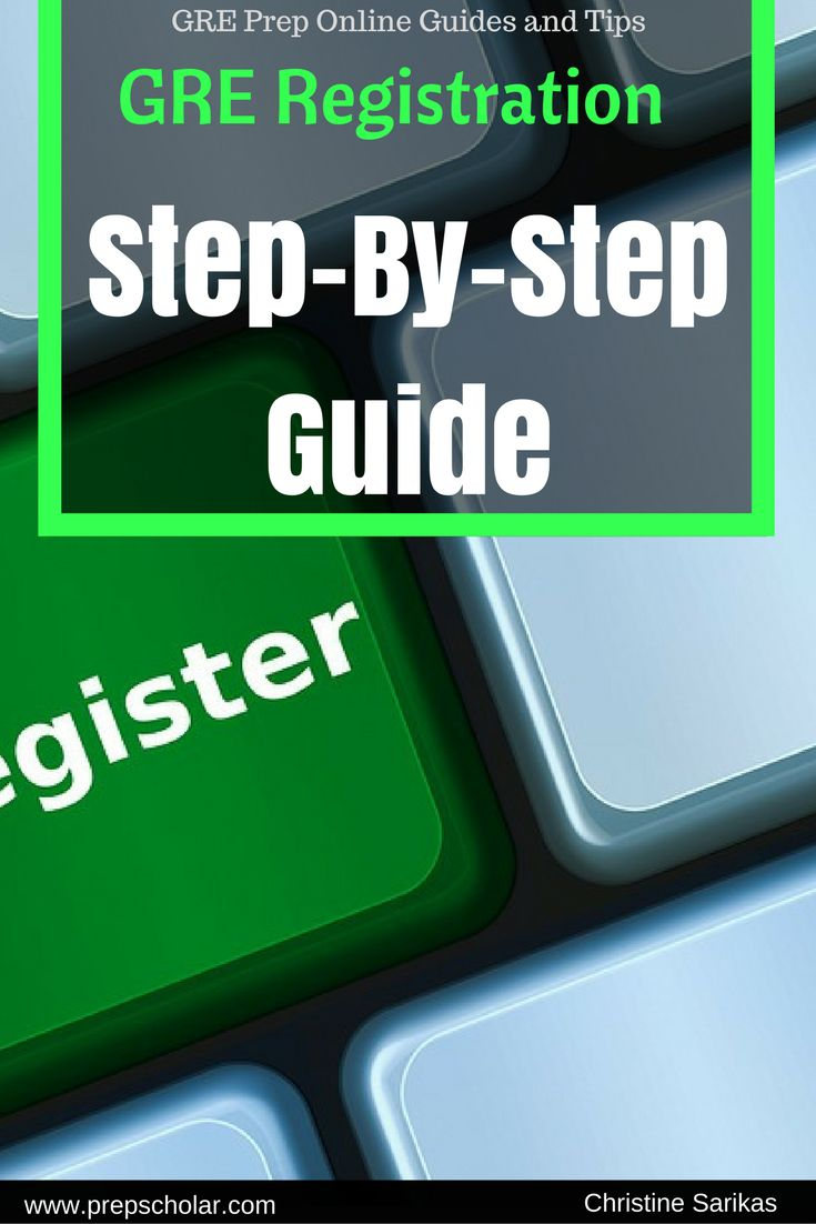 Interested in taking the GRE? The registration process may seem complicated, but once you understand the steps, it's actually pretty straightforward. GRE testing spots can fill up quickly, so you want to make sure you understand how to sign up for a test date sooner rather than later so you can get your preferred testing location and date, and so that you'll have enough time to send your scores to the schools of your choice.
