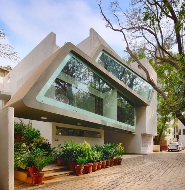 Mobius House Bangalore, Inde, ©Architecture Continuous