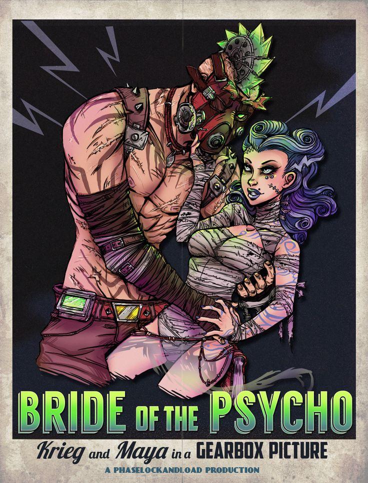 Bride of the Psycho by ViceDriven.deviantart.com on @deviantART