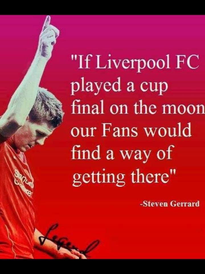 Steven Gerrard about fans. LFC