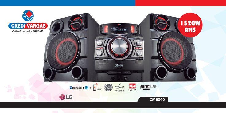 Bluetooth® / NFC. Disfruta tu música favorita en tu smartphone a través del sistema de audio LG MINI con Bluetooth® incorporador y tecnología NFC.