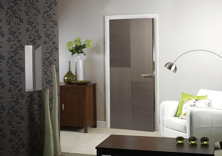 Hermes Chocolate Grey Internal Door #grey