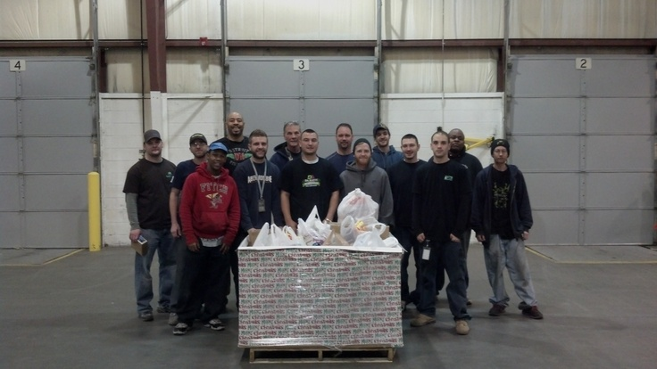 .Thanks to our Detroit employees and our local dealer partners for helping us collect just over 800lbs of dry and canned goods that will be dropped off today at Gleaners food bank. Special thanks to Hydro Vision of Fenton for donating 90lbs of food!! Happy Holidays!!