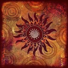aboriginal art sun                                                                                                                                                     More