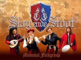 Spetterende, bruisende muziek uit een periode die nog steeds tot de verbeelding spreekt van velen: de Middeleeuwen. Middeleeuwse feesten, die soms dagen en nachten duurden, werden opgeluisterd door muziek die de mensen deed dansen en zingen - See more at: http://historischhuren.nl/object/slag-ende-stoot-middeleeuwse-muziek/#sthash.IJ9g0vON.dpuf