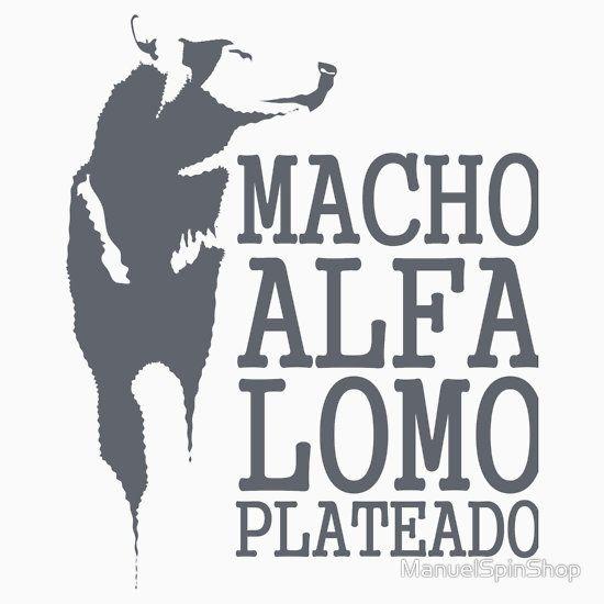 Macho Alfa Lomo Plateado
