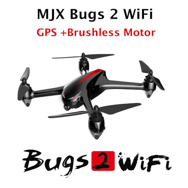 MJX B2W WiFi FPV RC Quadcopter GPS Drone Brushless Motor mjx bugs 2 wifi drones with HD Camera Rc Helicopter //Price: $322.65 & FREE Shipping //      #techie #camera #flyer #dronephoto #djiphantom3 #flying