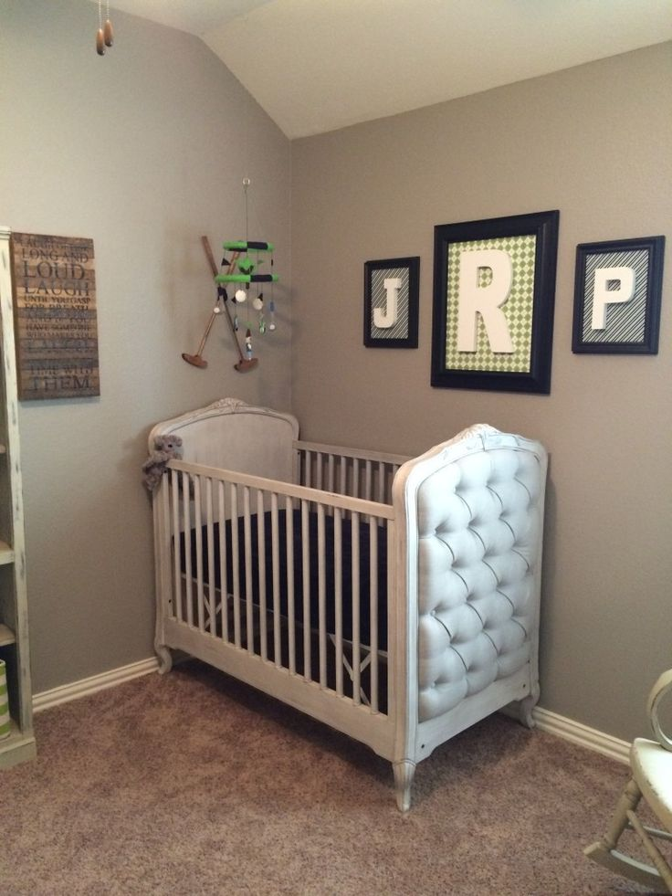 Best 25 golf nursery ideas on pinterest golf baby golf for Baby crib decoration
