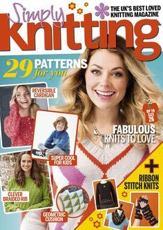 Simply Knitting №156 2017 - 轻描淡写 - 轻描淡写