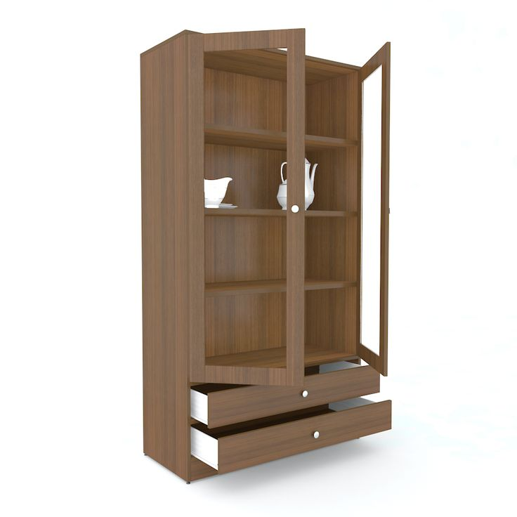 Decorate your kitchen with unicos crockery cabinets buy for Kitchen cabinets online india