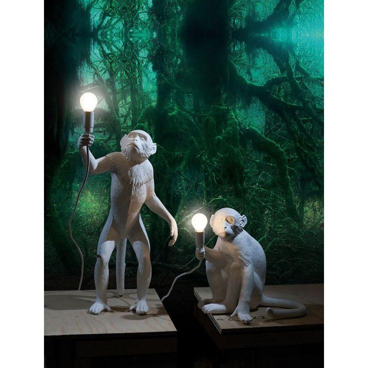 Seletti Hanging Monkey Wall Lamp