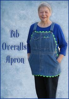 Apron Tutorial Using Denim Bib Overalls
