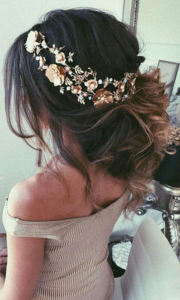 accessoires cheveux coiffure mariage chignon mariée bohème romantique retro, BIJOUX MARIAGE (101)