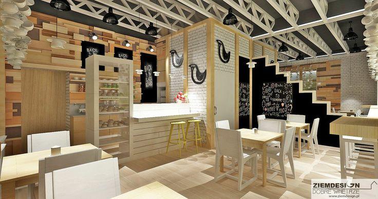 Przedstawiamy  wnętrze Kaffki Bistro w Białymstoku