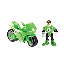 """Fisher-Price Imaginext DC Super Friends Figure - Cycle with Green Lantern -  Fisher-Price - Toys""""R""""Us"""