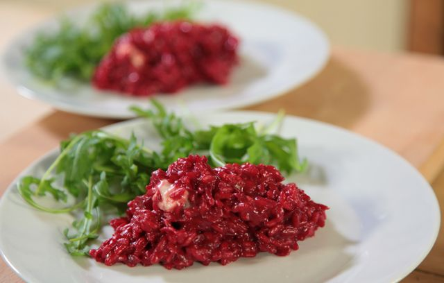 Beetroot Risotto | Recipes | Pinterest