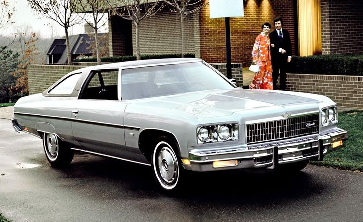 1975 Chevrolet Caprice Classic in silver