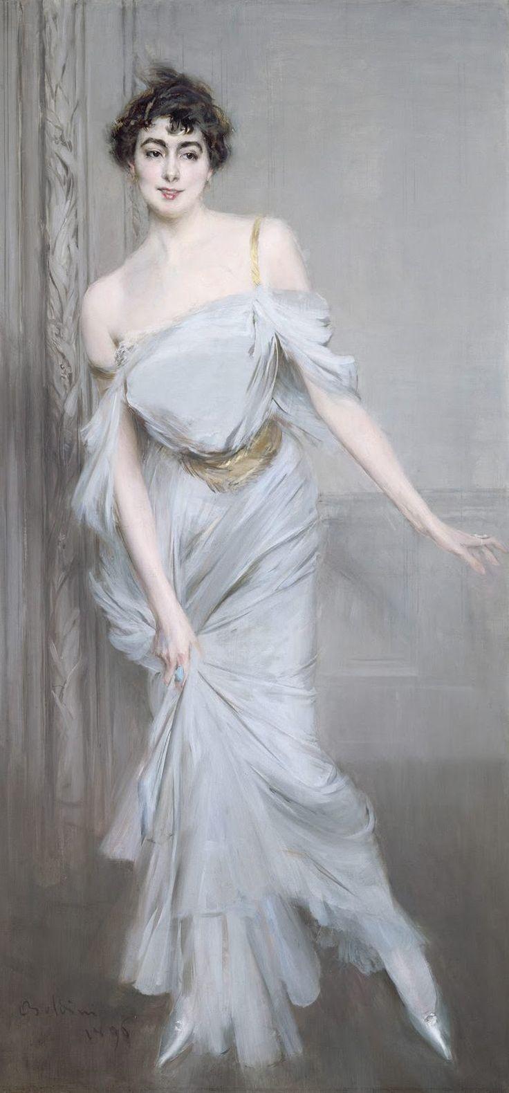 Madame Charles Max, par Giovanni Boldini