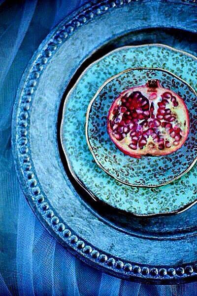 The Pomegranate n blue