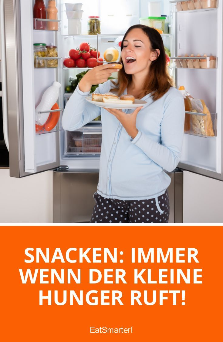 Ist es gesund, zwischen den Hauptmahlzeiten noch einige Snacks zu essen oder solltest du lieber darauf verzichten?  ▸ http://eatsmarter.de/ernaehrung/gesund-ernaehren/snacken-gut-oder-schlecht