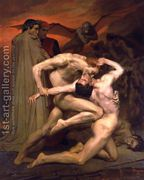 Dante et Virgile au Enfers (Dante and Virgil in Hell) by William-Adolphe Bouguereau