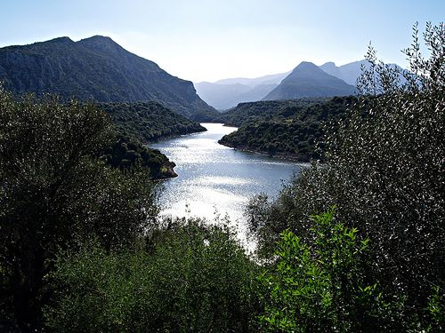 Lago Cedrino Dorgali Sardegna #TuscanyAgriturismoGiratola