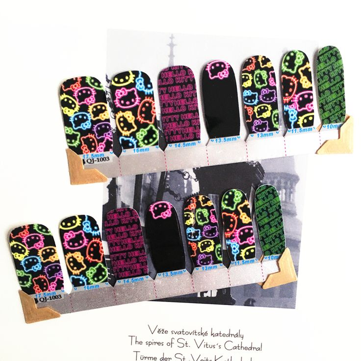 Giallo e viola Fluorescenza gatto Arti Del Chiodo Autoadesivo Del Chiodo Chiodo Impermeabile Della Decalcomania Gel Polish Patch di Manicure Francese Nastro Completo in Nail Art Van Gogh Starry Night Romantic Sticker High EN71 Quailty Foils Decals Summer Style Makeup French Manicure free da Adesivi e decalcomanie su AliExpress.com | Gruppo Alibaba