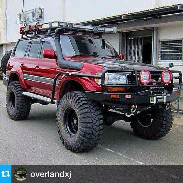 Nice Expedition Build Toyota Land Cruiser 80 series