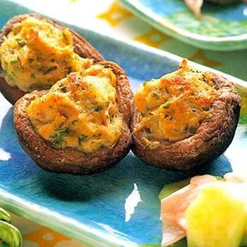 しいたけのツナのっけ焼き | 藤野嘉子さんの缶詰の料理レシピ | プロの簡単料理レシピはレタスクラブニュース