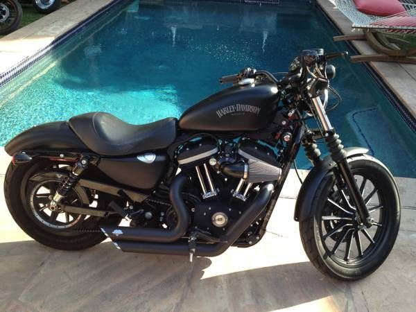 Used 2012 Harley-Davidson Iron 883 for Sale in Los Angeles, CA - 7343