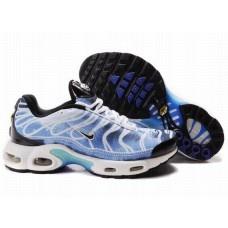 Hommes Nike Air Max TN Bleu/Noir/Blanc