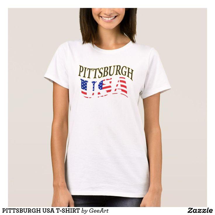 PITTSBURGH USA T-SHIRT
