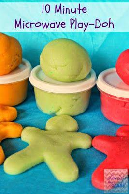 Ötletes Blog: Bögrés Play Doh gyurma főzés nélkül