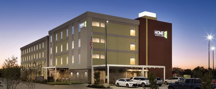 Home2 Suites by Hilton Houston Pasadena Hotel, TX - Exterior At Night