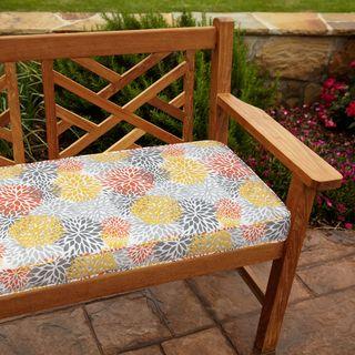 Tango Bloom 60-inch Outdoor Bench Cushion