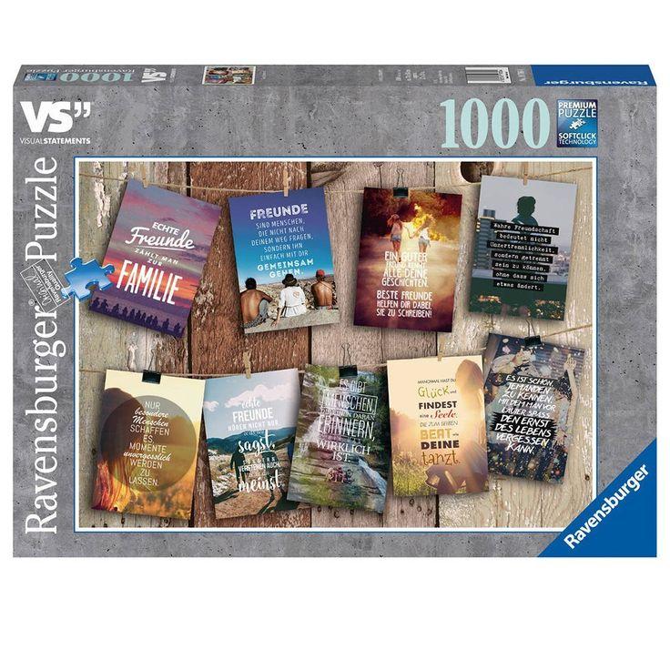 "Ravensburger Puzzle 19706 - ""Visual Statements"" Erwachsenenpuzzle: Amazon.de: Spielzeug"