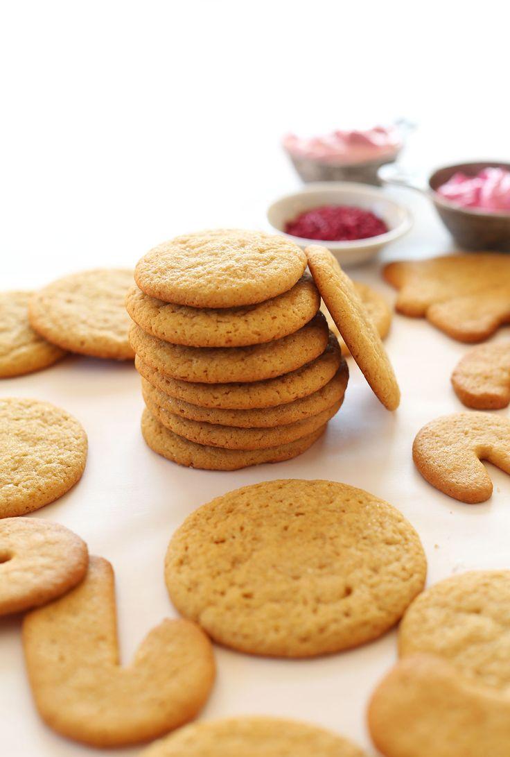 1 Bowl Vegan Sugar Cookies | Recipe | Circles, Sugar ...