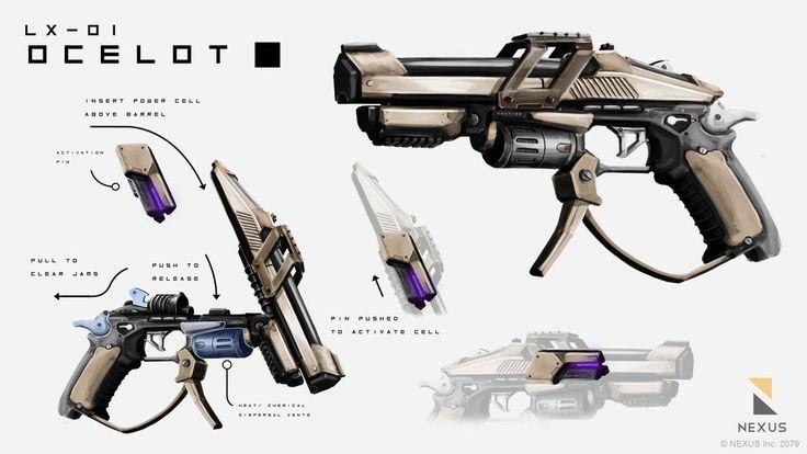 Ocelot - Particle Accelerator Pistol by BenedictNeoh