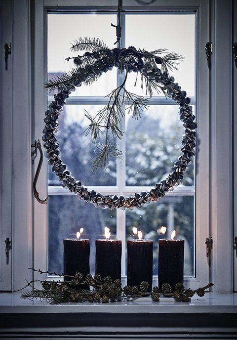 Julekranse, Adventskranz