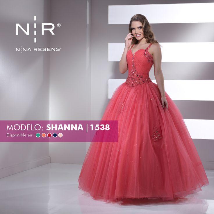 Princesas les presento el modelo Shanna, es un vestido de 2 piezas, bordado con cristalería y lentejuela. ¡De ensueño! Disponible en color: Aqua, Coral, Rojo, Azul rey y Rosa pastel. #XvAños #Colección2017 #Party #Dress #Moderna #Shanna by #NinaResens