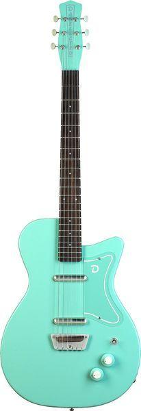 Danelectro DE56 Aqua  My guitar teacher has one like this, I want one
