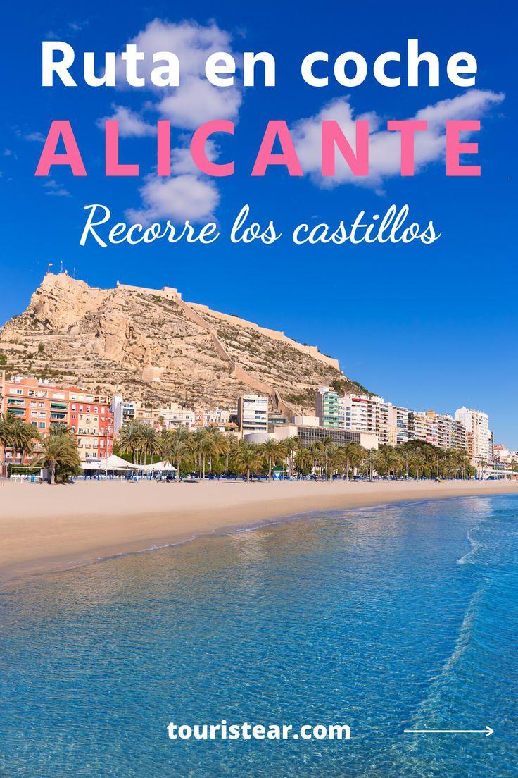 Visitar los castillos medievales de Alicante en coche. Road trip por la provincia de Alicante en automovil, furgoneta o autocaravana.  #CastillosdeAlicante #VisitaAlicante #España Enjoy It, Cities, Road Trip, Spain, Beach, Water, Blog, Travel, Outdoor