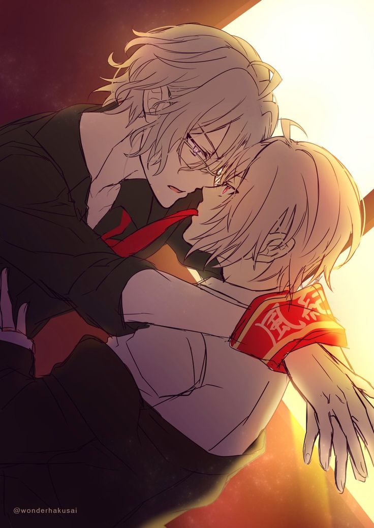 Idolish7 Gaku and Tenn